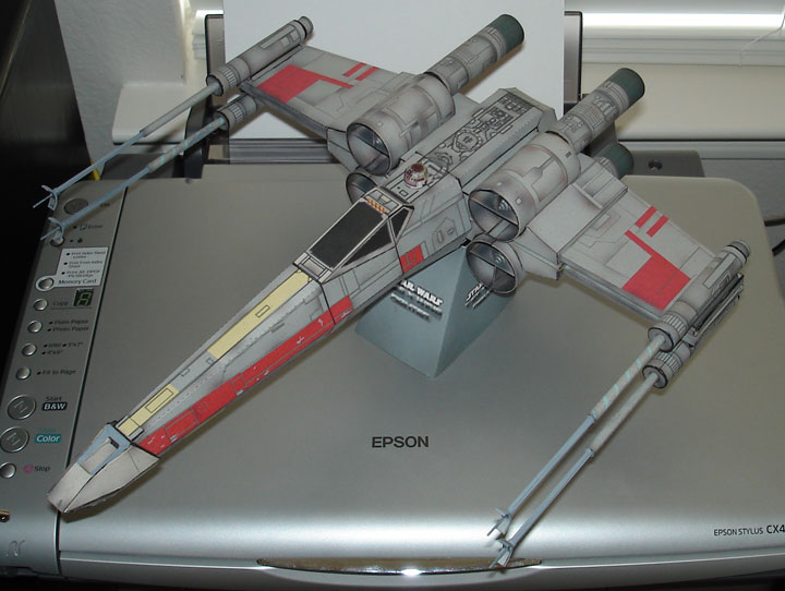 Sirius Replicas - Large Scale Models - Free Paper X-Wing Fighter